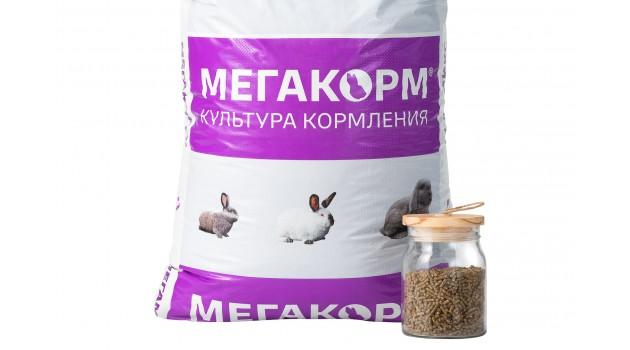 К/к Мегакорм для кроликов ПЗК-91 25 кг