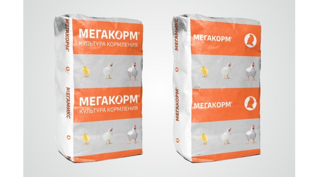 К/к МегаКорм для бройлеров ПК-5-1 Старт 25 кг